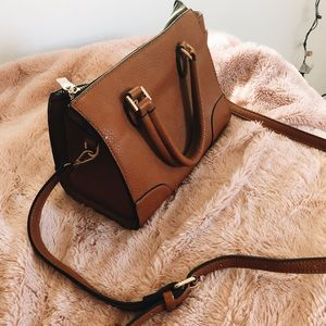 cute brown leather purse !!!!